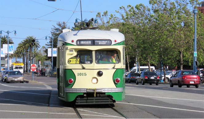 More of SFO's historic trams
