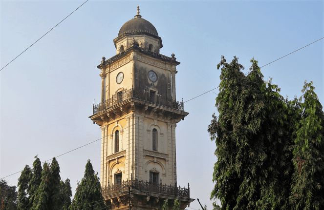 Clock tower in Mehboob chowk