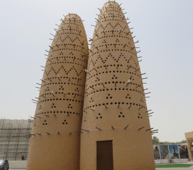 The symbol of Katara Cultural village