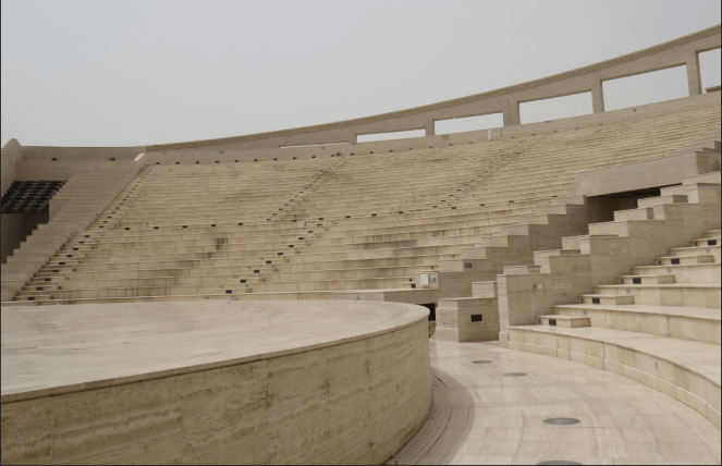 A view of the amphitheatre in Katara Cultural Village