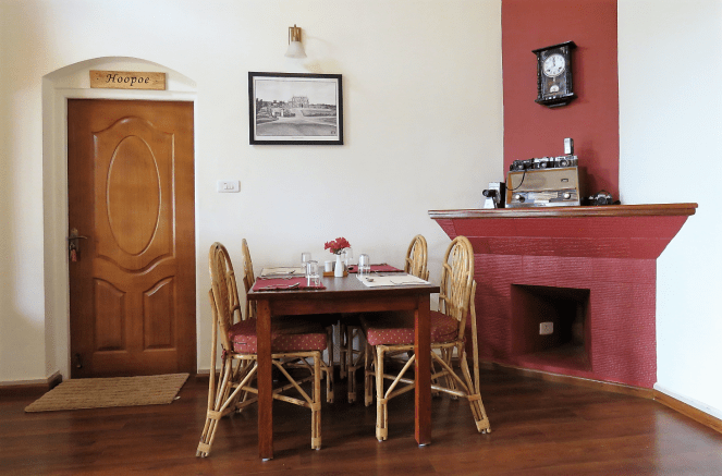 Dining area at Teanest Nightingale, Kotagiri