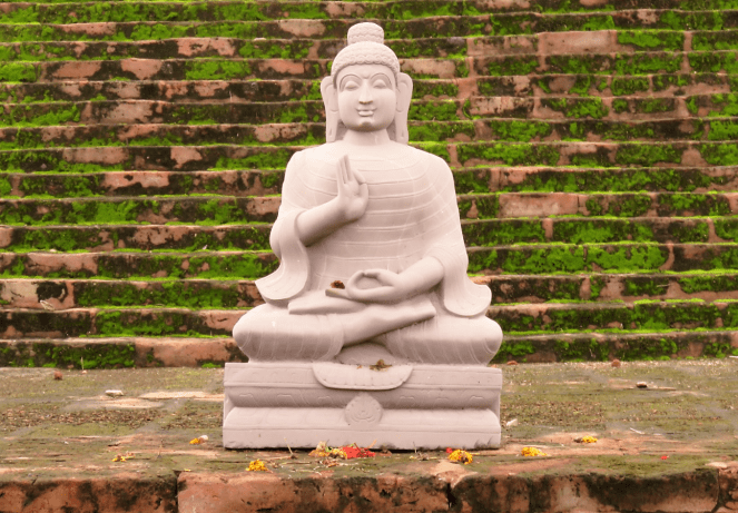 A statue of Lord Buddha