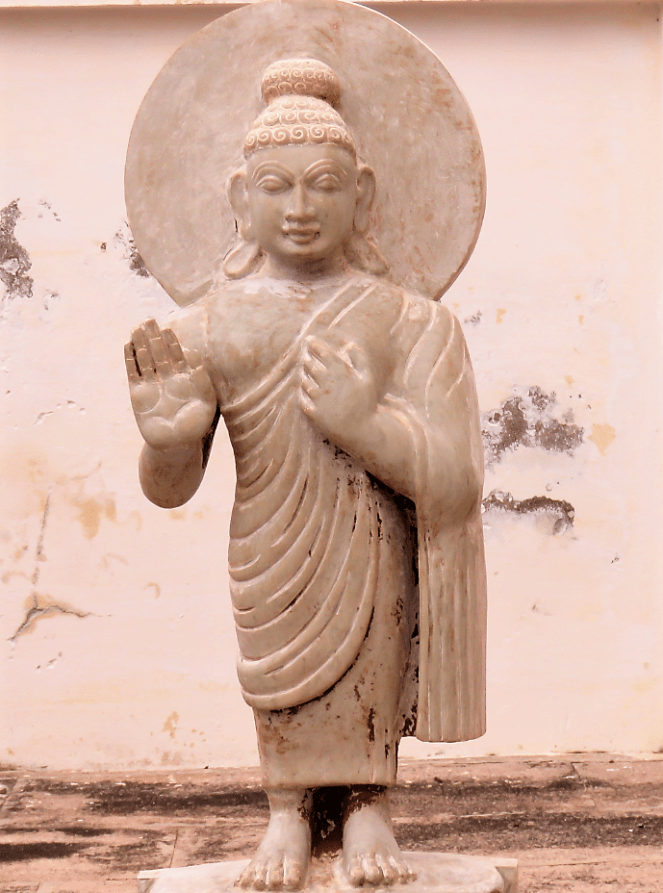 Statue of Lord Buddha at Ghantasala museum