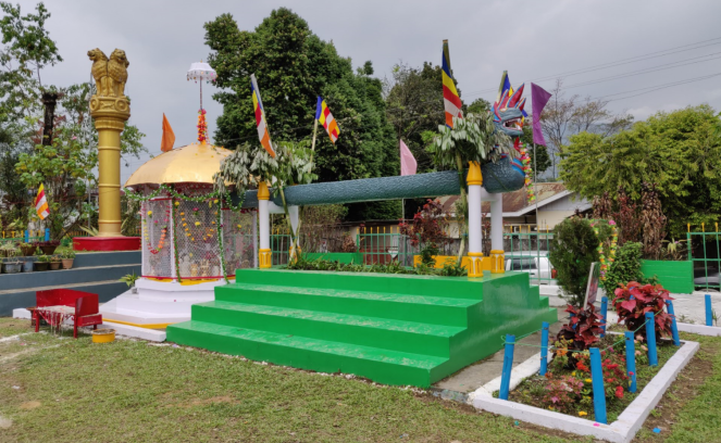 Theravada Buddhist temple, Itanagar