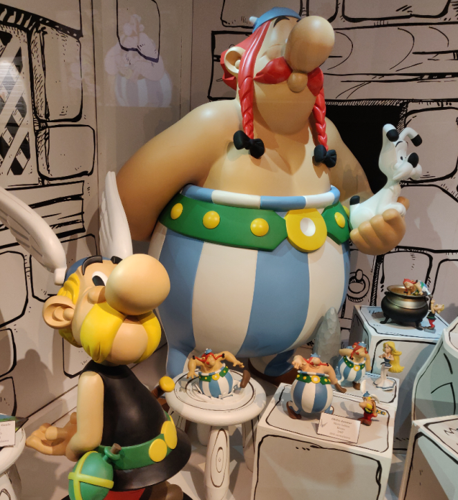 Asterix in MOOF, Brussels