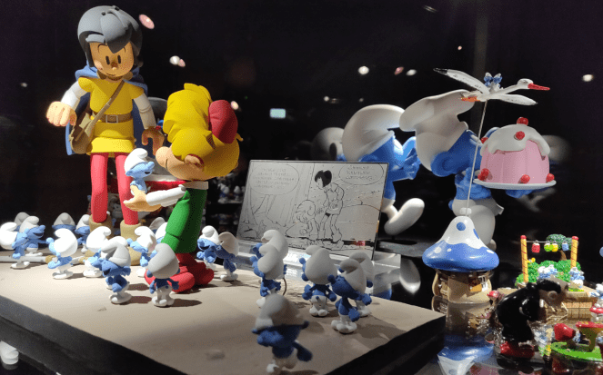 The world of Smurfs in MOOF, Brussels