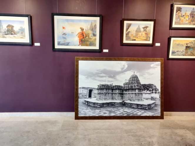 Art shows at Grand Mercure, Gopalan Mall