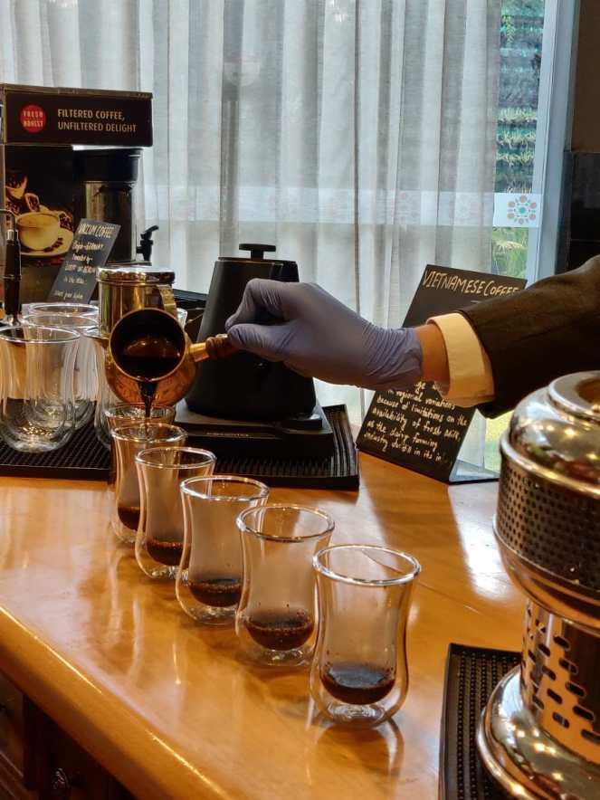 Coffee tasting at 1026 AD at Grand Mercure, Gopalan Mall