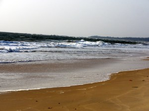 Kundapur beach in the evening