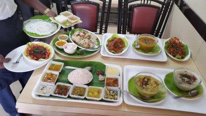 I loved the veg thali at Hotel Sunny