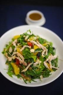 Jasmine marinated chicken salad