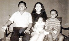 Mother's 2nd husband Indonesian Lolo Soetoro (Indonesian Muslim), their daughter Maya, and Obama.