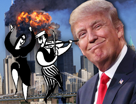 Trump Now Knows The Truth About Zionist's 9-11: The Five Dancing Mossad Israelis Arrested On 9-11.