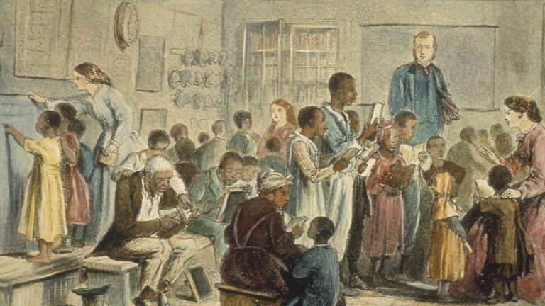 Amerikalıların kütləvi dövlət təhsilindən əvvəl savadsız olduqları mifi