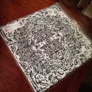 Færdig plade yæi! Coveret (og labelsne på selve pladen) er i øvrigt lavet af kunstneren Christian Finne. Powerfull stuff!