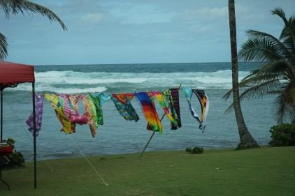 Towels for sale on Bathesba Beach