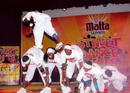 With 2Puff at the 2008 MG Street Dance Competition