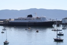 The Columbia, Alaska Ferry