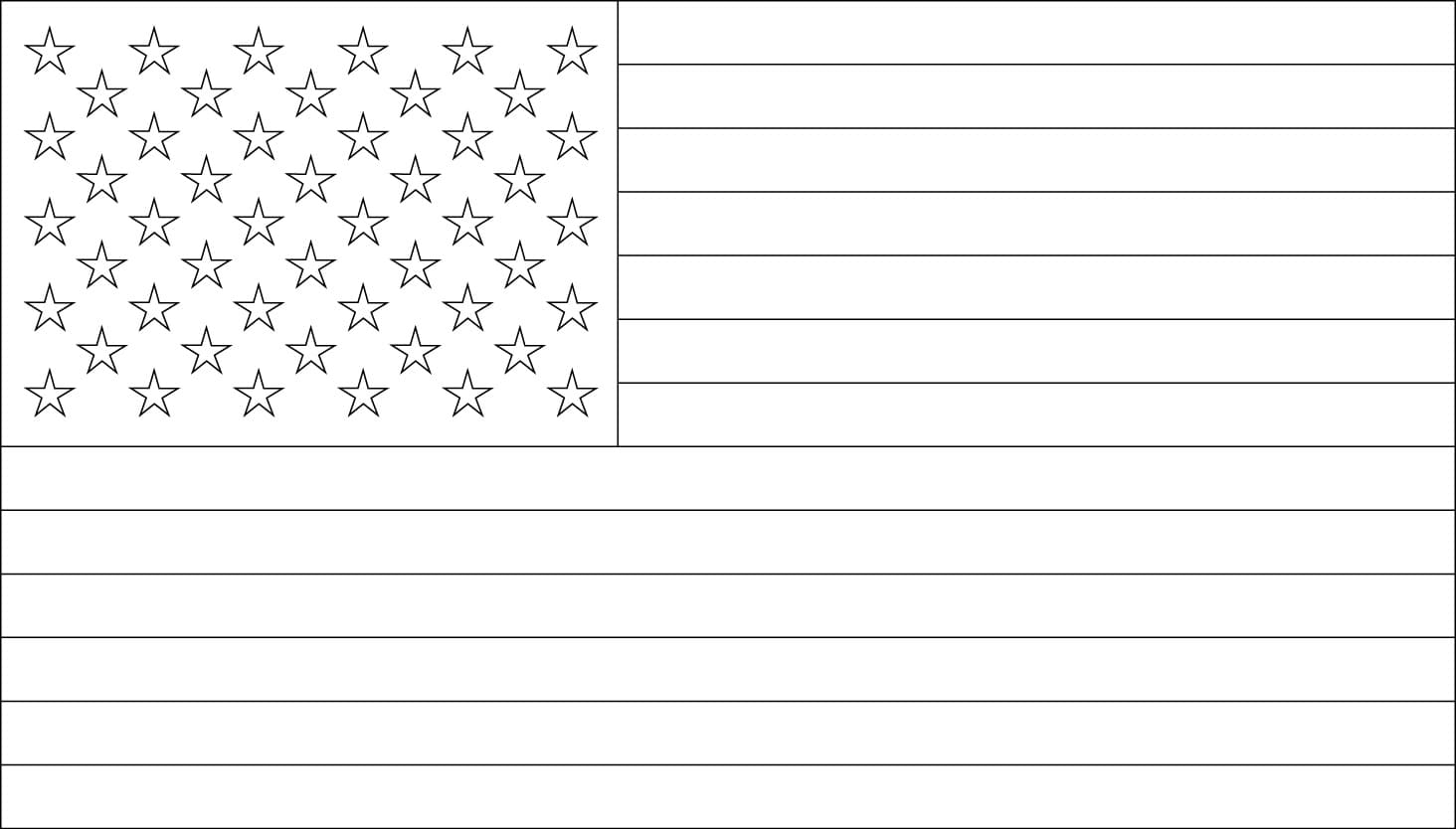 American Flag Coloring Pages You Can Print On The Site