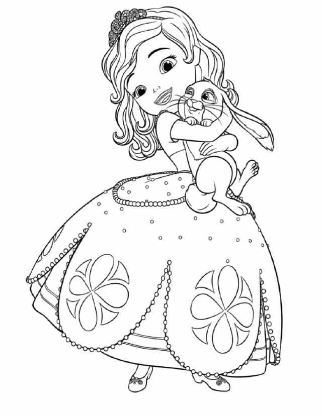 Coloriage Princesse. 9 images pour une impression gratuite