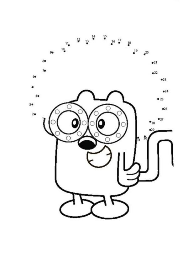 wow wow wubbzy coloring pages # 16