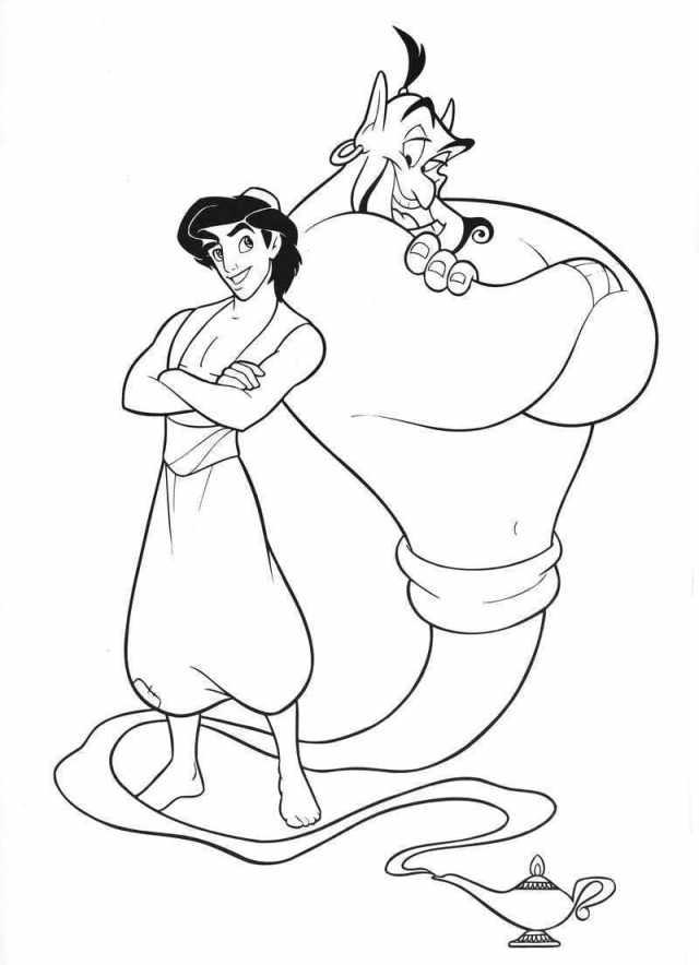 Ausmalbilder Disney. 24 Bilder zum kostenlosen Drucken