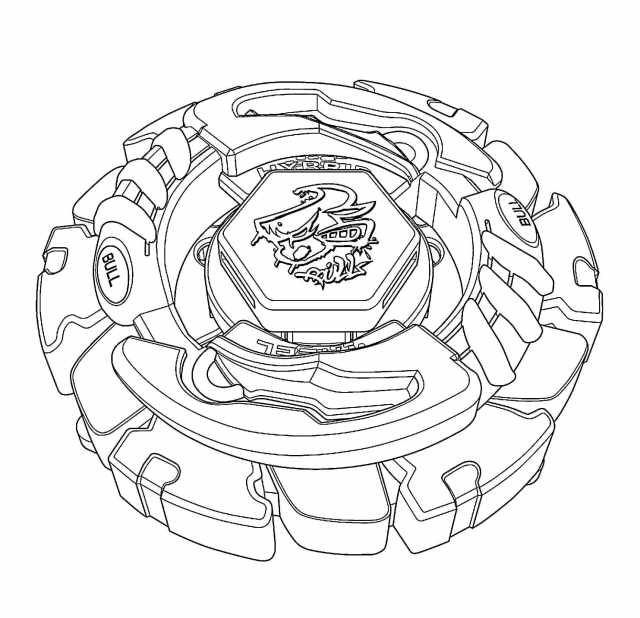 Beyblade Coloring Pages - 30 Images Free Printable