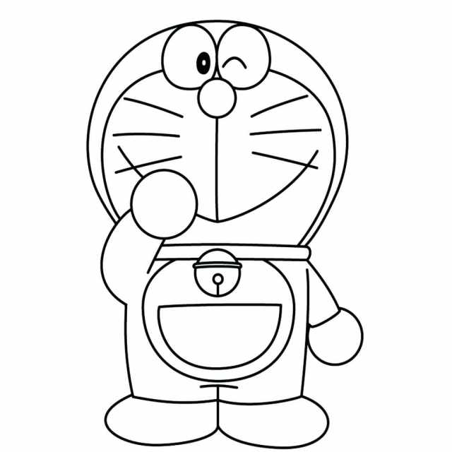 Doraemon Coloring Pages  25 Pictures Free Printable