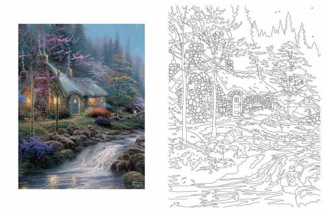 Coloriage Adulte Paysage - 24 images à imprimer gratuits