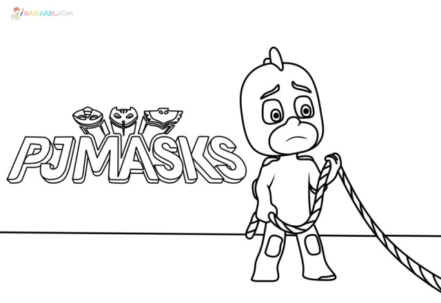PJ Masks Coloring Pages  29 Pictures Free Printable