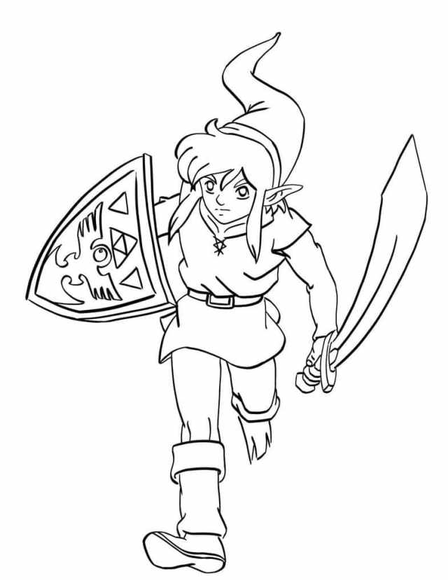 The Legend of Zelda coloring pages  24 Pictures Free Printable