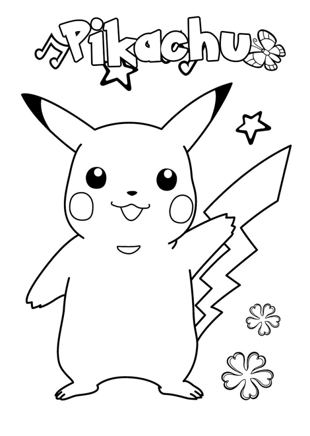 Pokemon Coloring Pages. 18 Best Free Printables Images