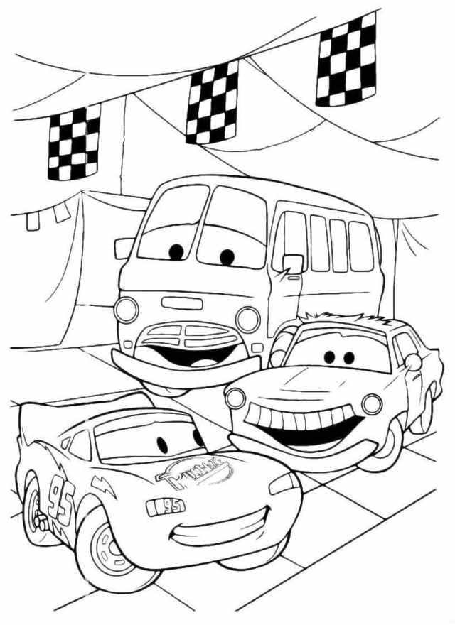 Lightning Mcqueen Coloring Page  27 images Free Printable