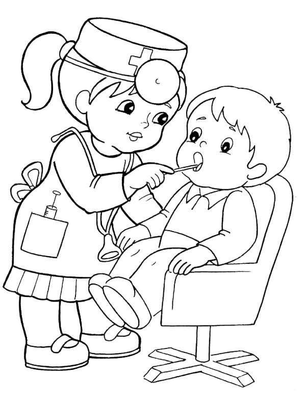 """Раскраски """"Профессии"""" для детей.102 штуки! Распечатайте онлайн"""