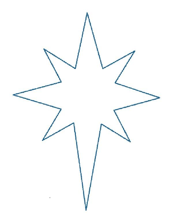 Раскраска звезда скачать и распечатать