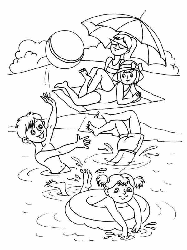 Раскраски Море скачать и распечатать бесплатно, рисунки ...