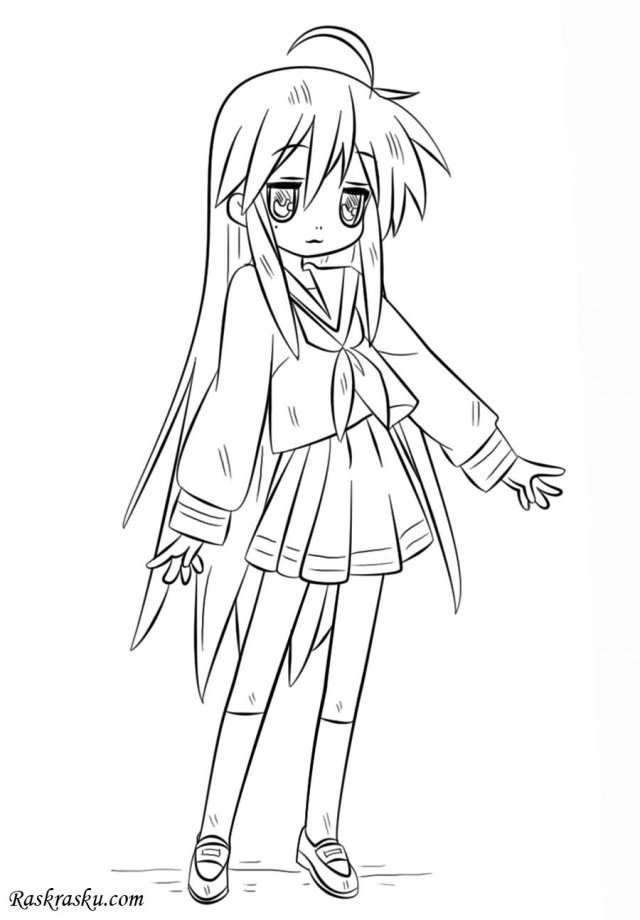 Lucky star coloring pages