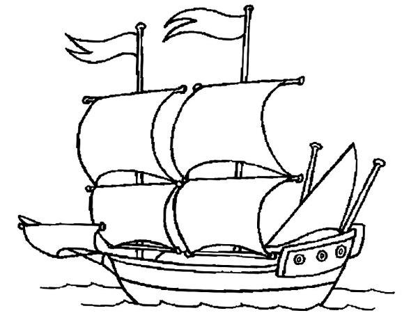 Полезные и интересные раскраски для детей корабли