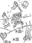 Полезные и интересные раскраски для детей Смешарики Нюша