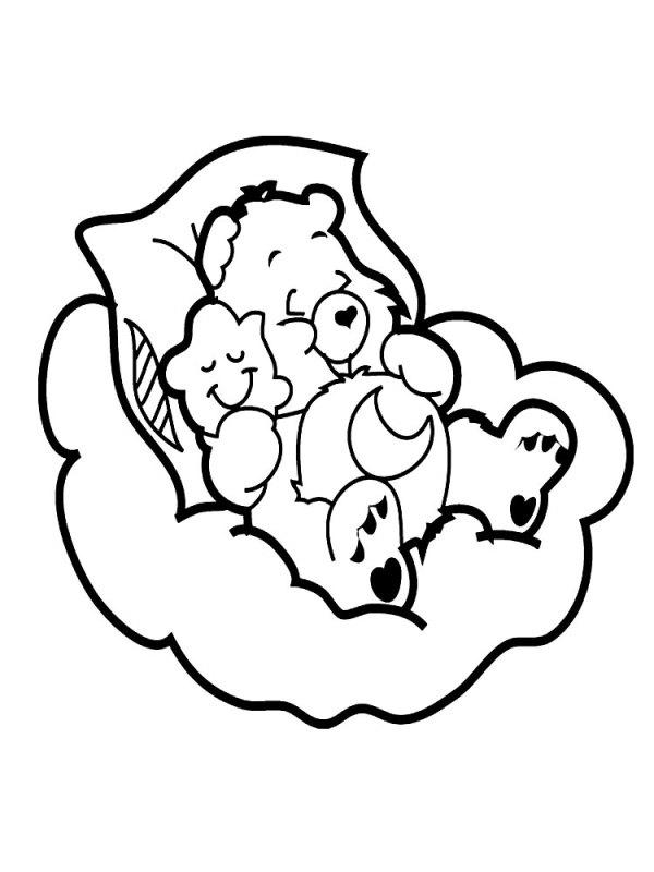 Полезные и интересные раскраски для детей заботливые мишки