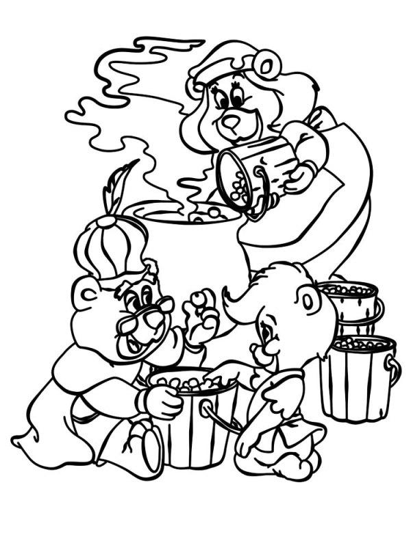 Качайте или печатайте прямо на сайте раскраски мишки Гамми