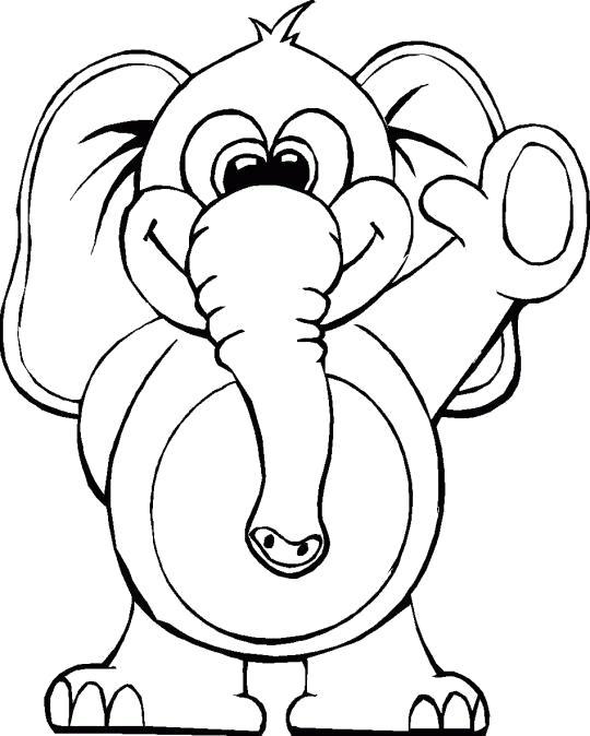 Раскраски слон, Подборка картинок разложенных по категориям.