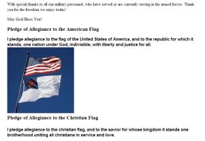 christian-flag-under