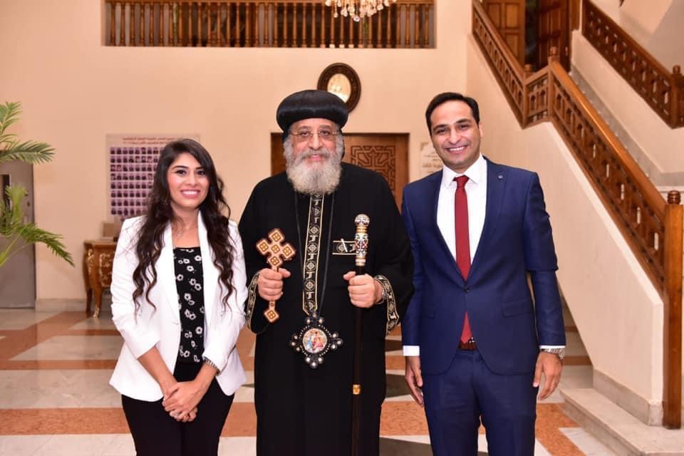 غدًا حفل زفاف الدكتور بولا القمص صليب وعروسه ساندى يوسف