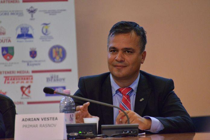 Adrian Vestea primar Rasnov