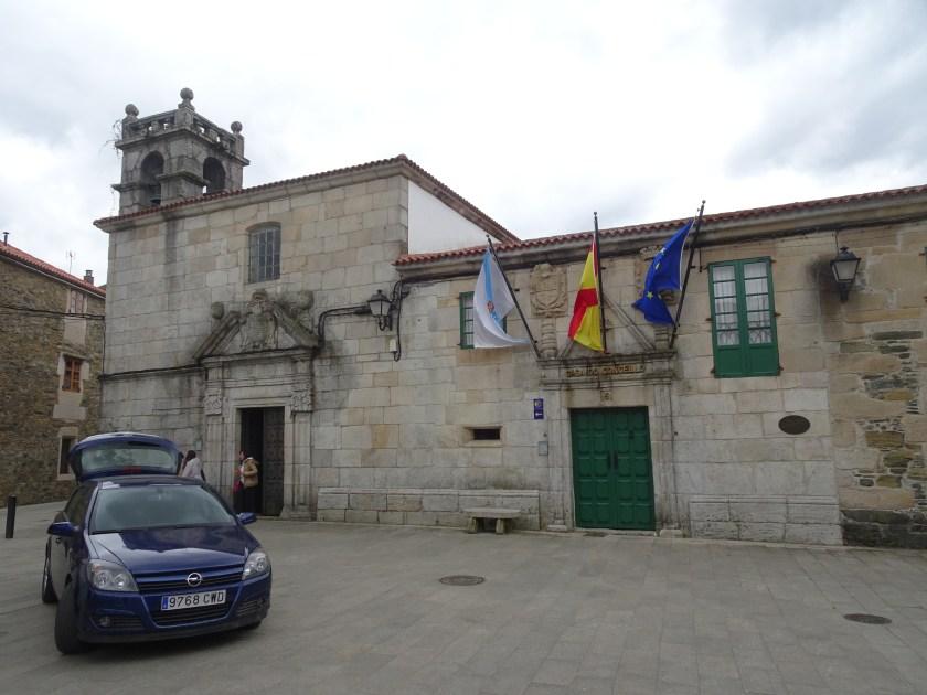 Camino de Santiago Dia 3 Palas de Rei Melide Plaza del Concejo (1)
