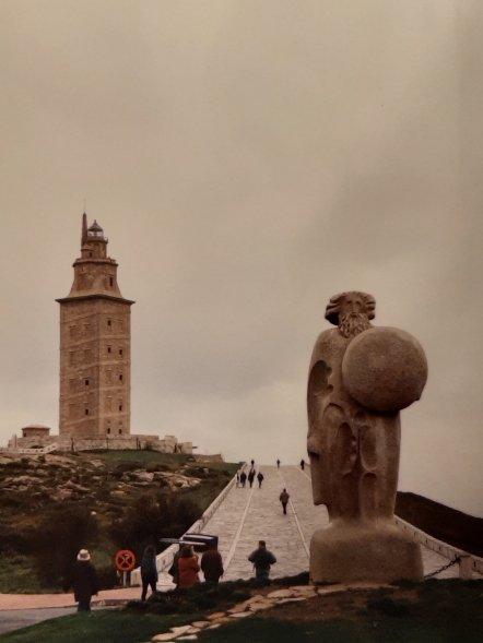 Faro de Hercules - La Coruña