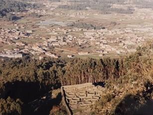 Ruinas celtas en Monte Santa Tecla