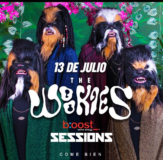 B:oost Sessions llevará el poder de la música de The Wookies a Puerto Escondido