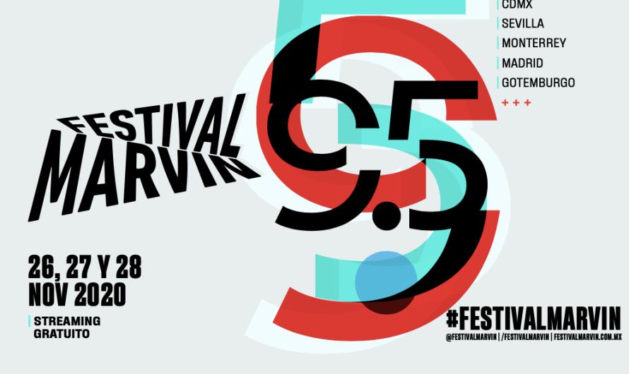 #FestivalMarvin 9.5 más de 40 actos en directo vía streaming de acceso gratuito